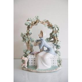 Figura De Porcelana Española De Lladro