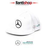 Gorra Lewis Hamilton Mercedes Amg Petronas Formula 1 Blanca
