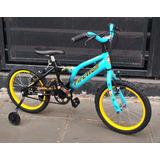 Bicicleta Rodado 16 Con Rueditas Y Garantia!!