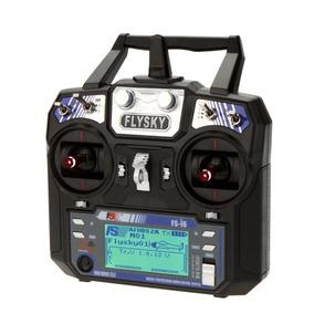 Radio Controle Flysky Fs-i6 V2 06 Canais 2.4ghz Com Receptor