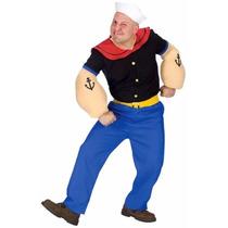Disfraz Adulto Popeye Original. No Rebajo $$