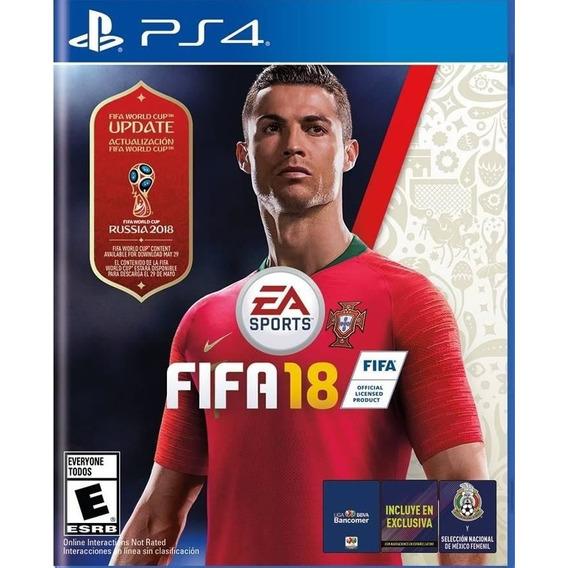 Fifa 18 World Cup Edition Ps4 Original Fisico Espa?ol Latino