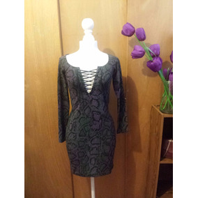 Vestido Betsey Johnson Marca Original Cintas Escote Pegado