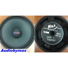 Parlante15 Pulgadas Maxpro 450 Watts Woofer/re Audiobymax