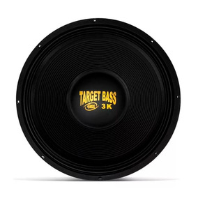 Alto Falante Eros 18 E18 Target Bass 3.0k 1500w Rms 4 Ohms
