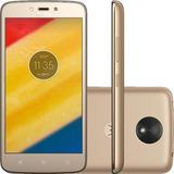 Motorola Moto C Plus Dual Android 7.0 Tela 5 Xt1726 Ouro