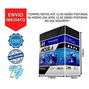 Bateria Moura Ma6-d Nx400 Falcon Honda