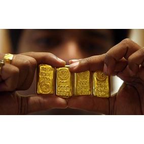 Ouro Legítimo Barra De Ouro 18k 10g Aceito Cartão De Crédito