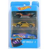 Hot Wheels Autitos Pack X 3 Original Mattel