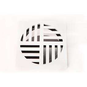Ralodengue Quadrado Branco 150mm