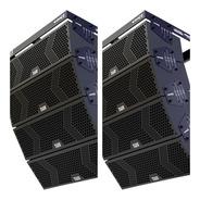 Sistema Line Array Ativo 6 Pol Mark Audio 4000w Rms Loja