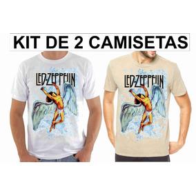 Camisas De Rock Led Zeppelin - Calçados cbf6e156f9218