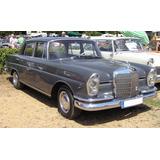 Libro De Taller Mercedes Benz Año 59 Al 67