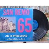 Festival San Remo 1965 Primeiras Classificadas Lp Chantecler