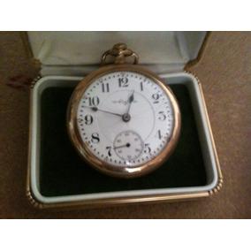 Reloj Elgin Antiguo De Bolsillo De Cuerda