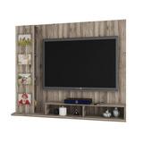 Painel Para Tv Estrela Teca Wood - Germai Móveis