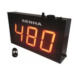 Painel Sequencia Control Remoto Dispenser Placa 2000 Senhas