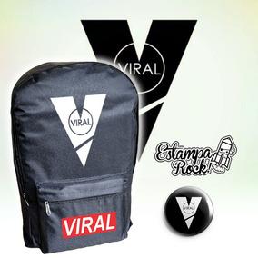 Viral - Mochila Unisex + Pin Prendedor - Youtuber - Dos Bros