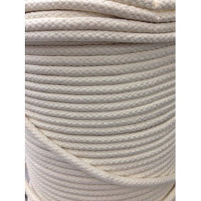 Corda De Algodão Para Capoeira 8mm - Rolo Com 200m
