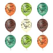 Balão Bexiga Dinossauro - Tam 10 Pic Pic  25 Unid 4u Festas