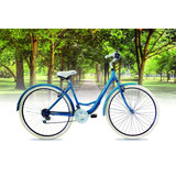 Bicicleta Topmega Dama Lady Paseo 18 Velocidades Oferta!!!
