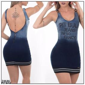 Vestido Pit Bull Jeans Original Com Frete Grátis!