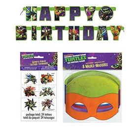 Fiesta De Cumpleaños De La Tortuga Ninja Adolescente Pa...
