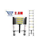 Escalera Telescópica Aluminio Extensible 2.6 Metros