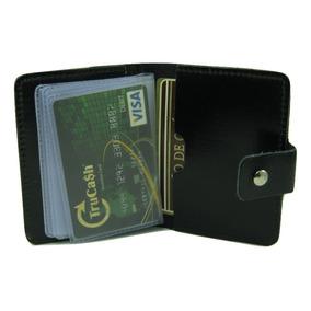 Porta Cartões Mini Carteira Masculina Pequena E Funcional R8