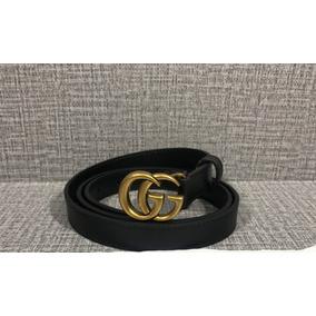 Cinturón Marca Gucci Doble G