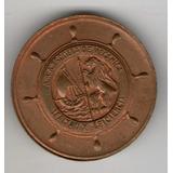 Prueba En Cobre De Medalla De Armada Escuela De Mecánica