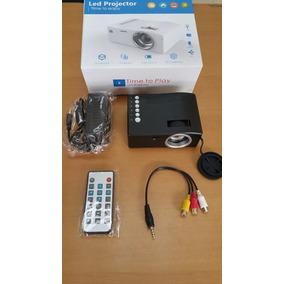Mini Video Beam Proyector Led Microsd Hdmi Usb Av