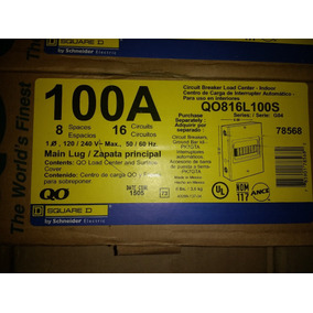 Centro De Carga Qo8 100 A