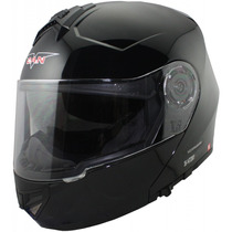 Casco Rebatible V-can V270 Con Doble Visor En Freeway Motos!