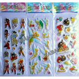 Calcomanias Stickers Relleno Cotillon Piñata Juguete Niño