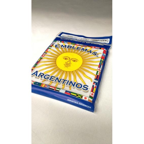 Bandera Argentina Reglamentaria Flameo Con Sol 90 X 144 Cm