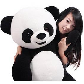 Urso Panda De Pelúcia 1,20 Metros De Altura Gigante Grande