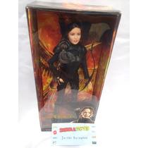 Muñeca Barbie Katniss Everdeen Juegos Del Hambre Sinsajo 2