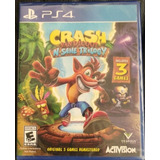 Crash Bandicoot N´sane Trilogy Ps4 Sellado Envio Gratuito
