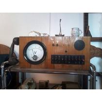 Aparelho De Telefonista Antigo Ericsson Madeira