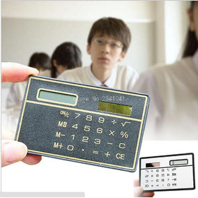 Calculadora Solar Escolar Estudante Aluno Prática Concursos