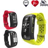 Reloj Smart Band S908 Gps Monitor Cardíaco Altitud Calorías
