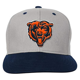 9c6be6cd5c688 Equipo De Nfl Chicago Bears Boys Youth Flatbrim Gorra Sombre