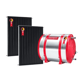 Kit Aquecedor Solar Komeco - Boiler 300 Litros + 2 Coletores