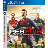 Pes 2019 Pro Evolution Soccer 19 Ps4 Fisico Argentina