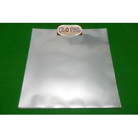 100 Plásticos P/ Capas De Lp Disco Vinil - 0,20 Extra Grosso