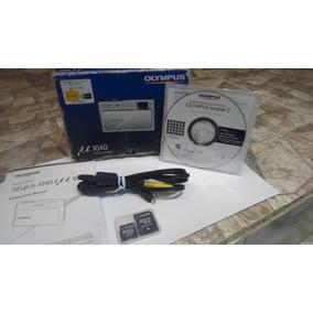Caja De Camara Olympus,cable Audio Video+adaptadores Memoria
