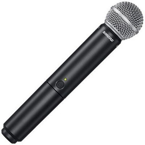 Microfone Sem Fio Shure Blx24 Sm58 Frete Gratis