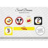 Stickers De Mickey Cortados Para Candy Bar O Mesa Dulce