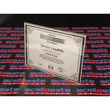Porta Retrato Acrílico Cuadro Diploma Títulos Reconocimiento